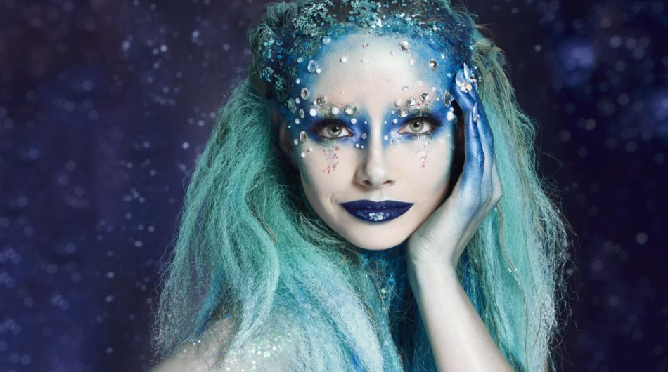 Superdrug Halloween Enchanted Mermaid look